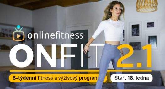 Fitness program ONFIT 2.1 startuje 18.ledna!